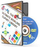 Ultimate Bowling Clipart and Graphics Library